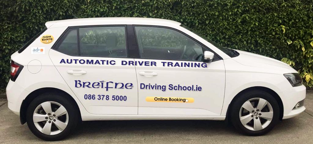 automatic car - Breifne driving school